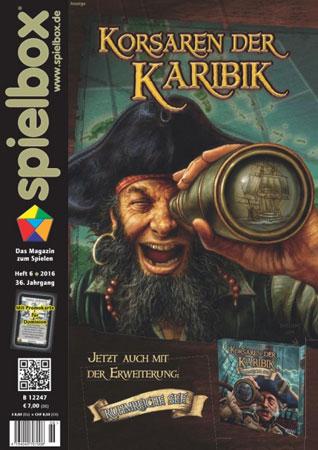 Spielbox 06/2016 englische Ausgabe