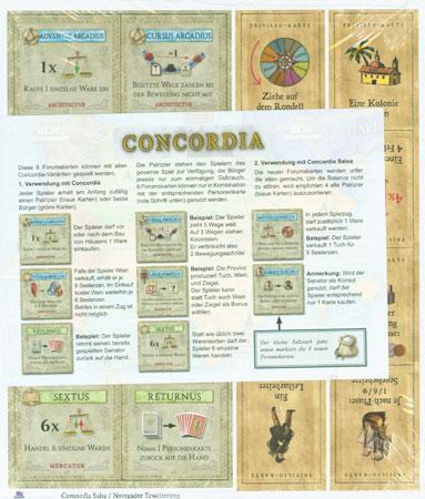 Minierweiterung zu Concordia und Navegador