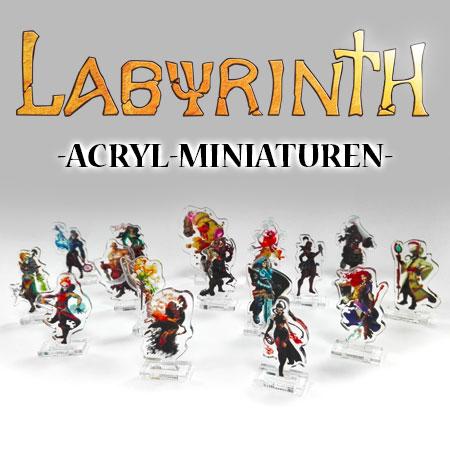 Labyrinth - Paths of Destiny - Acryl-Miniaturen