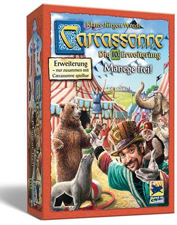 Carcassonne - Manege frei! (10. Erweiterung)