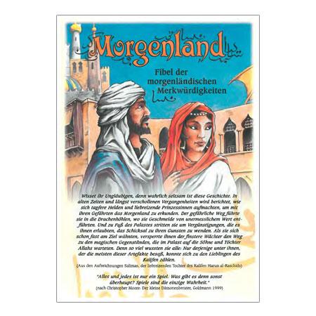 Morgenland - Spielefibel und dt. Anleitung