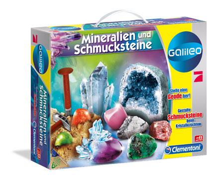 Galileo - Ausgrabungsset Mineralogie und Kristalle (ExpK)