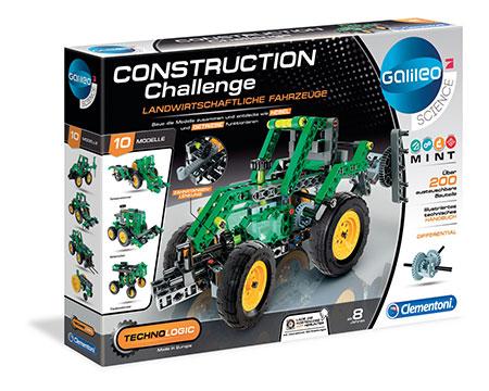 Galileo - Construction Challenge - Landwirtschaftliche Fahrzeuge (ExpK)