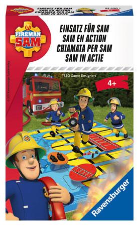 Feuerwehrmann Sam - Einsatz für Sam Mitbringspiel