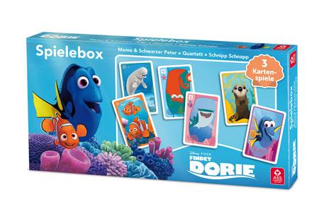Disney Pixar Findet Dorie - Spielebox (3 in 1)