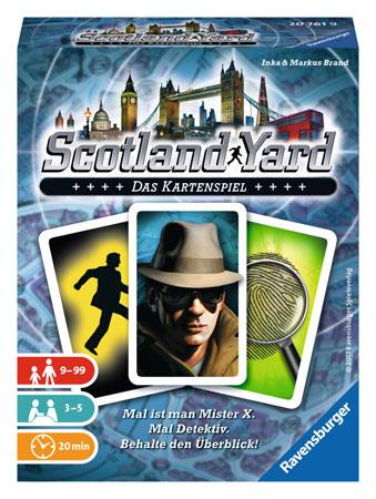 Scotland Yard - Das Kartenspiel