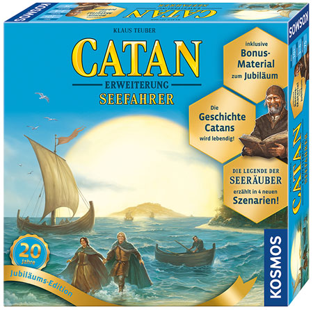 CATAN – Seefahrer Erweiterung – Jubiläums-Edition