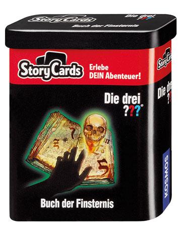 Story Cards – Die drei ??? - Buch der Finsternis