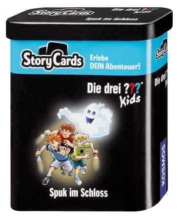 Story Cards – Die drei ??? Kids - Spuk im Schloss
