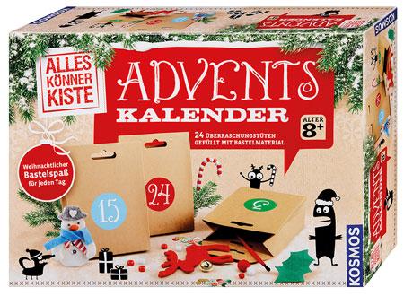 Basteln - Adventskalender