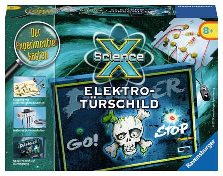 ScienceX - Elektro Türschild (ExpK)