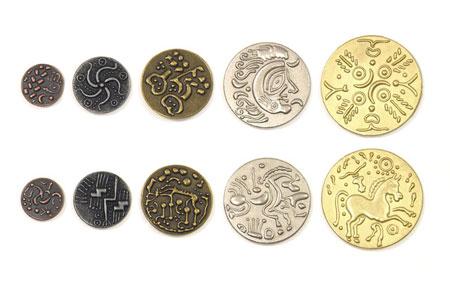 Spielgeldmünzen-Set Kelten