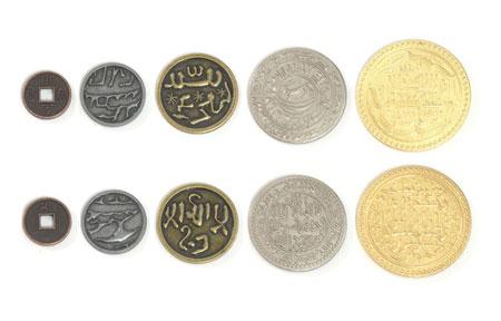 Spielgeldmünzen-Set Mongolei