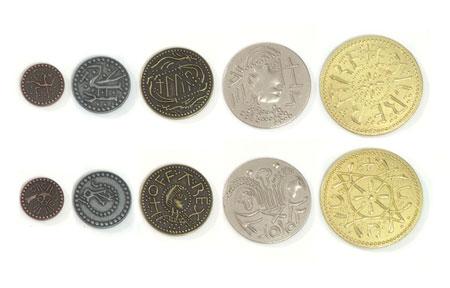 Spielgeldmünzen-Set Angelsachsen