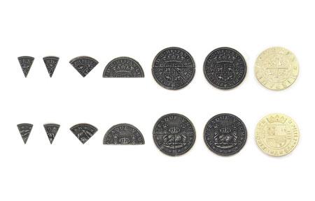Spielgeldmünzen-Set Spanien