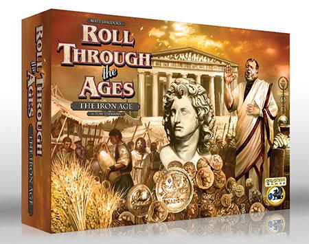 Roll Through the Ages - The Iron Age mit Mediterranean Erweiterung (engl.)