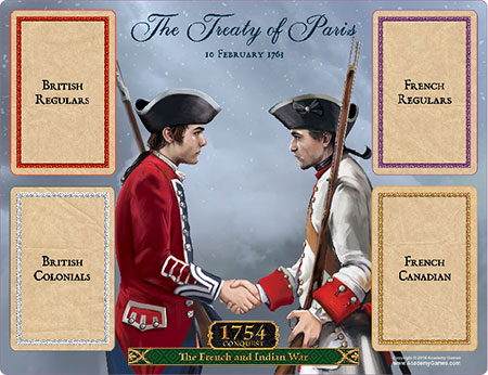 Birth of America - 1754 - Conquest: The French and Indian War - Treaty Board (engl.)