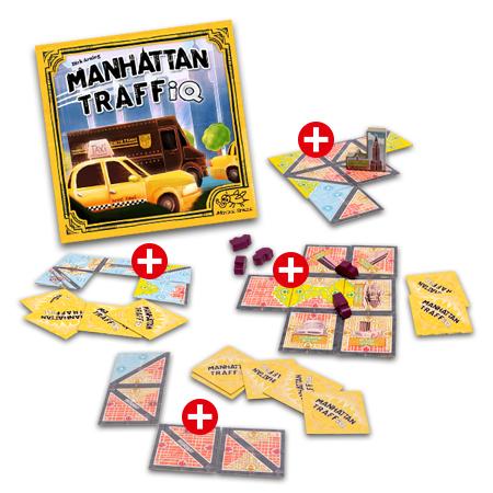 Manhattan TraffiQ - Bundle (Basisspiel + Erweiterungen)