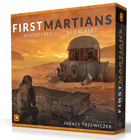 First Martians - Adventures on the Red Planet (engl.)