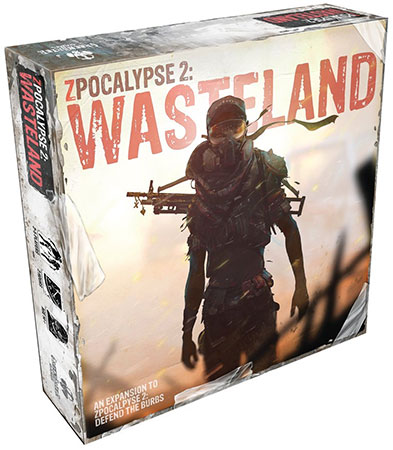 Zpocalypse 2: Defend the Burbs - Into the Wasteland Erweiterung (engl.)