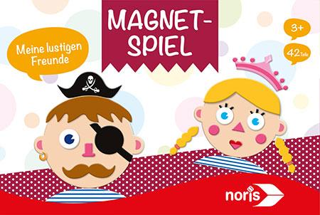Magnetspiel - Meine lustigen Freunde