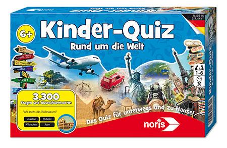 Kinder-Quiz - Rund um die Welt