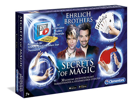 Zauberkasten - Ehrlich Brothers - Secrets of Magic