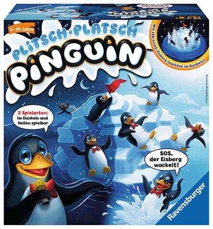 Plitsch-Platsch Pinguin - nachtleuchtende Edition