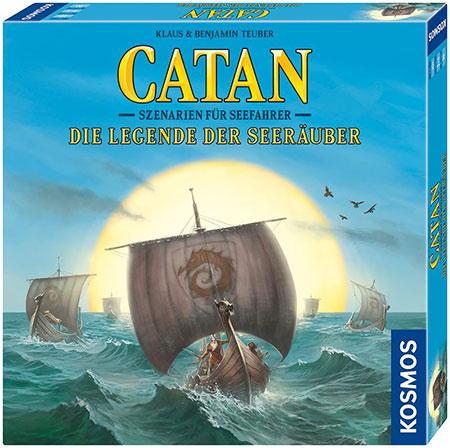 Catan - Szenarien für Seefahrer - Die Legende der Seeräuber