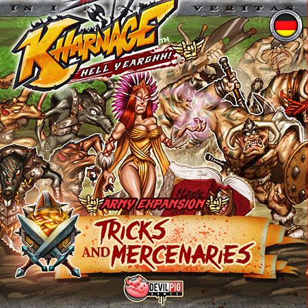 Kharnage - Tricks & Mercenaries Army Erweiterung