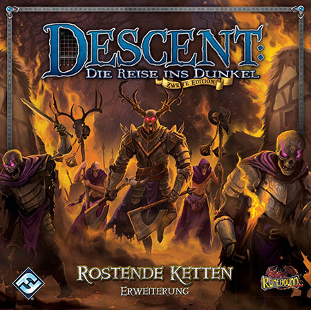 Descent 2. Edition - Rostende Ketten Erweiterung
