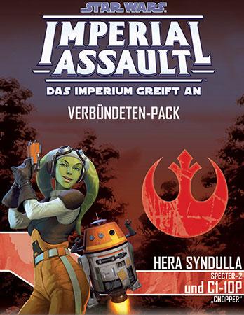 Star Wars: Imperial Assault - Hera Syndulla und C1-10P Erweiterung
