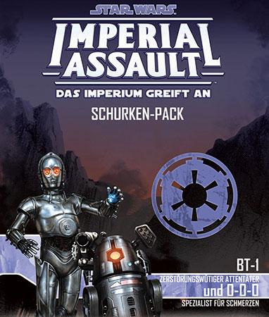 Star Wars: Imperial Assault - BT-1 und 0-0-0 Erweiterung