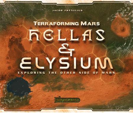 Terraforming Mars - Hellas & Elysium (engl.)