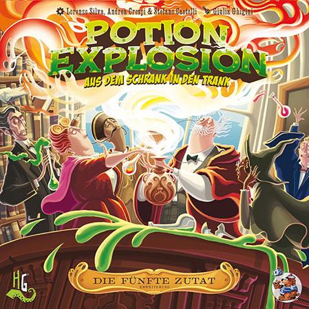 Potion Explosion - Die 5. Zutat Erweiterung