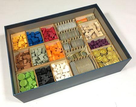 GeekMod - Sortierbox aus Holz für Terra Mystica