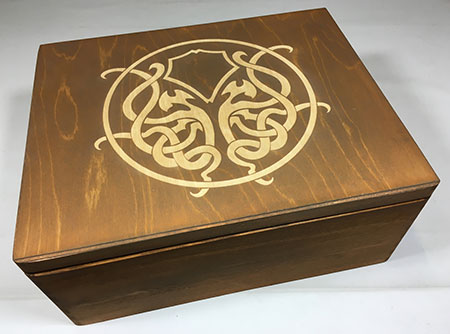 GeekMod - große Sortierbox aus Holz für Eldritch Horror