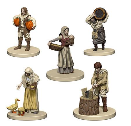 Agricola - weiße Miniaturen inkl. Erweiterung