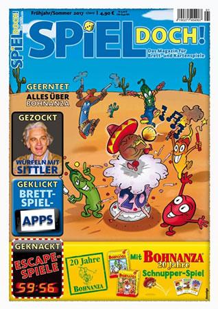 Spiel Doch! - Magazin 01/2017 inkl. Schnupperspiel von Bohnanza