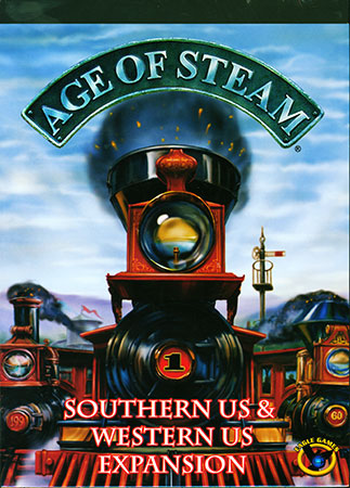 Age of Steam - Southern US & Western US (engl.)