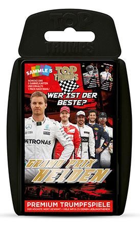 TOP TRUMPS - Grand Prix Helden