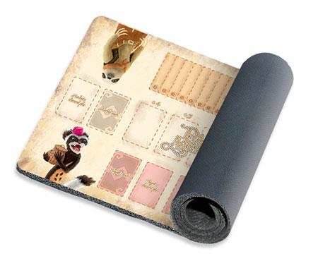 Dale of Merchants: 2 Spieler Spielmatte - Polecat & Sloth