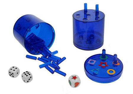 Super Six - XL - blau (Kunststoff)