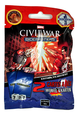 Marvel Dice Masters - Civil War Gravity Feed (Booster)