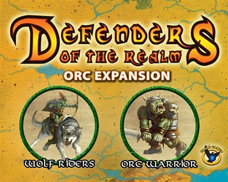Defenders of the Realm - Orc Minion Erweiterung (unbemalt) (engl.)
