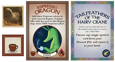 Fantastiqa - Espresso Dragons, Wild Goose Chase & Audacious Artifacts Erweiterung (engl.)