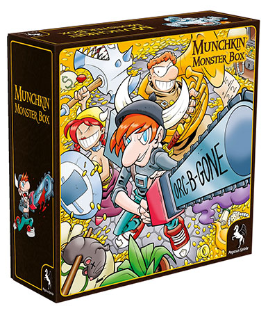 Munchkin Monsterbox - Cover 1 (Huang)