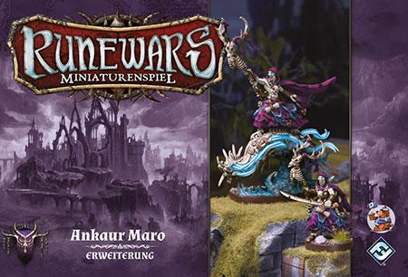 Runewars - Miniaturenspiel - Ankaur Maro Held Erweiterung