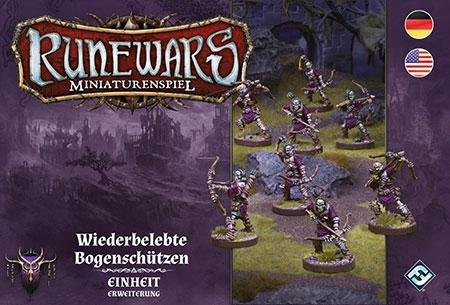 Runewars - Miniaturenspiel - Wiederbelebte Bogenschützen Einheit Erweiterung
