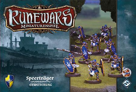 Runewars - Miniaturenspiel - Speerträger Einheit Erweiterung